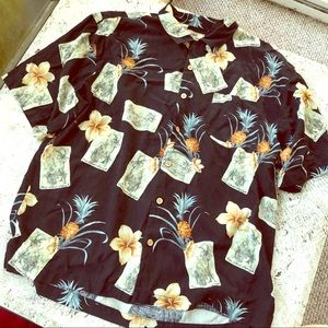 Pineapple Hawaiian Style Shirt
